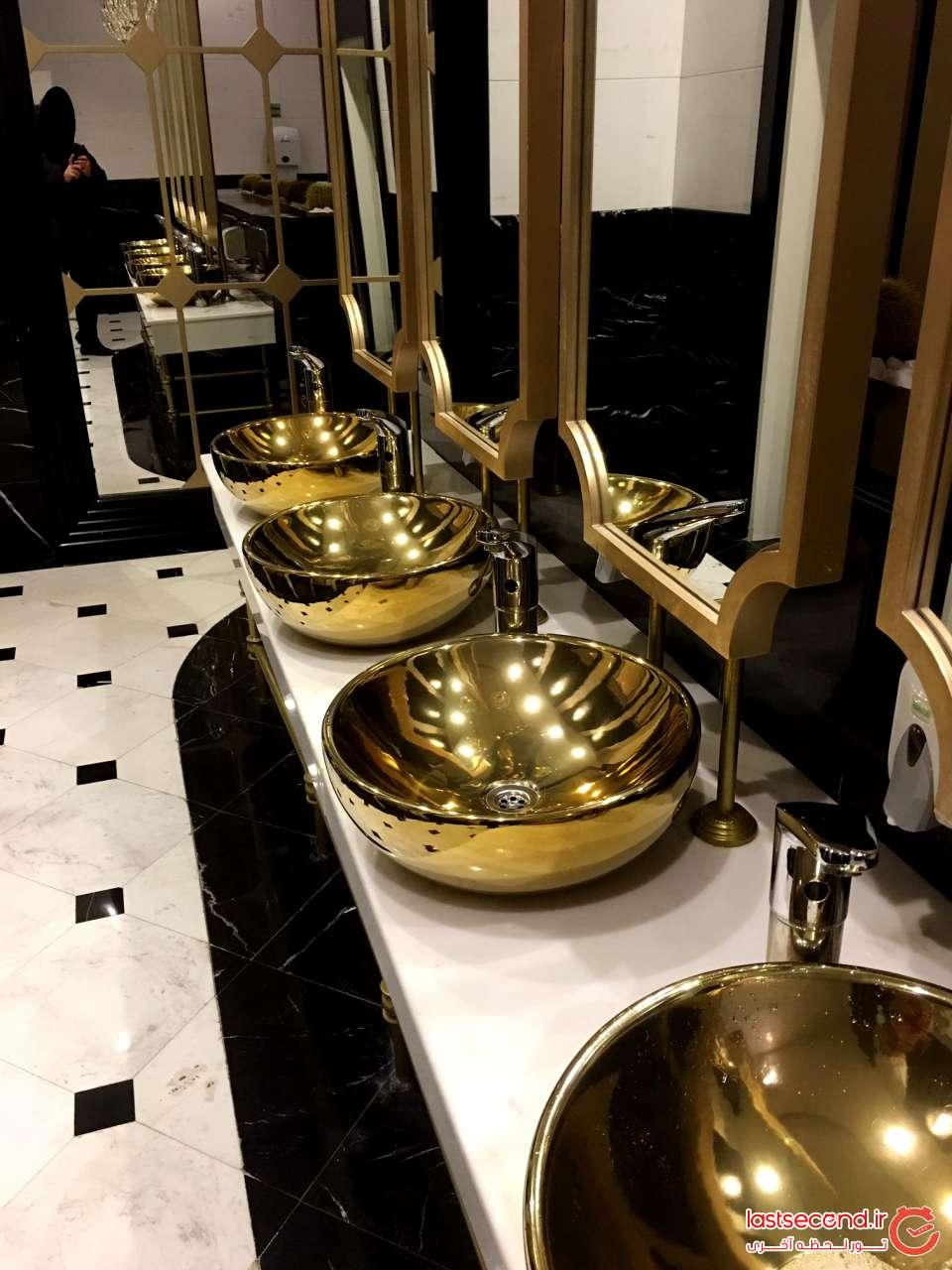 سرویس حمام و دستشویی