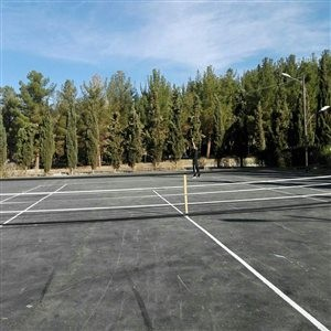 Abadeh Tennis Court
