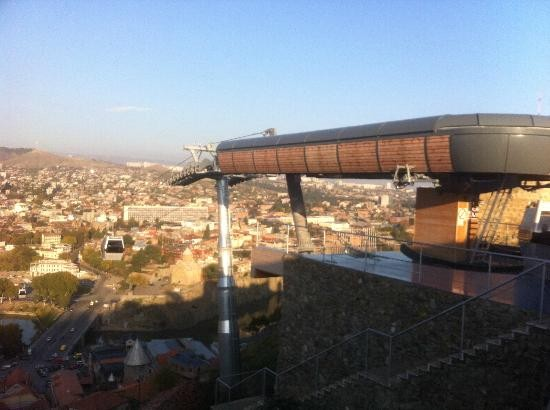 Aerial Tramway in Tbilisi
