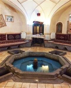 رستوران تاریخی شاه عباس (حمام ابراهیم آباد)