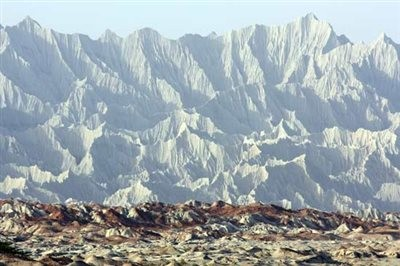 Martian Mountains Chabahar