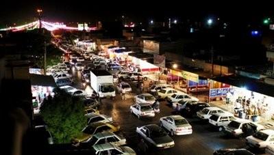 خیابان لشکرآباد (بازار فلافل اهواز)