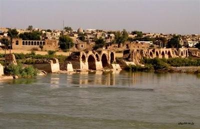پل شادروان (بند قیصر)