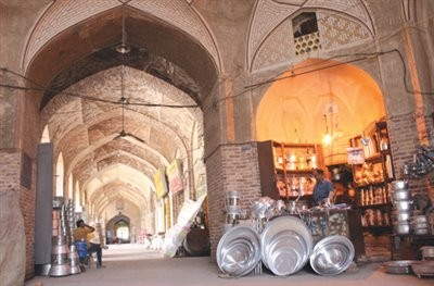Historical Market of Ganjali Khan