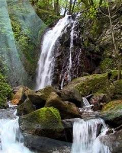 Doodvazan waterfall Khormksh