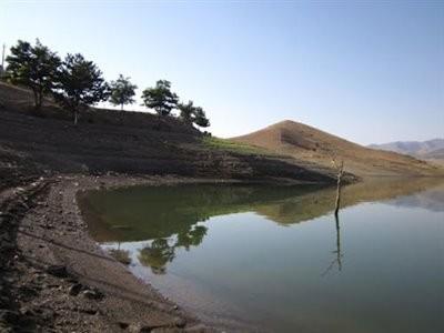 دریاچه سد اکباتان (سد یلفان)