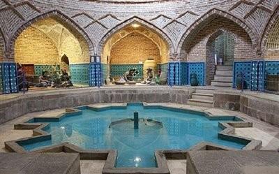 موزه مردم شناسی حمام قجر قزوین
