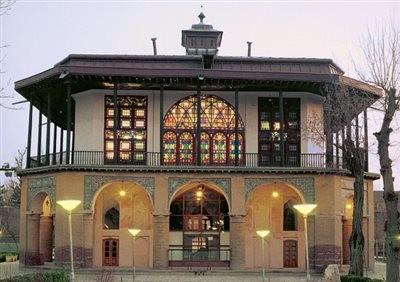 کاخ موزه چهل ستون قزوین (موزه خوشنویسی، عمارت کلاه فرنگی)
