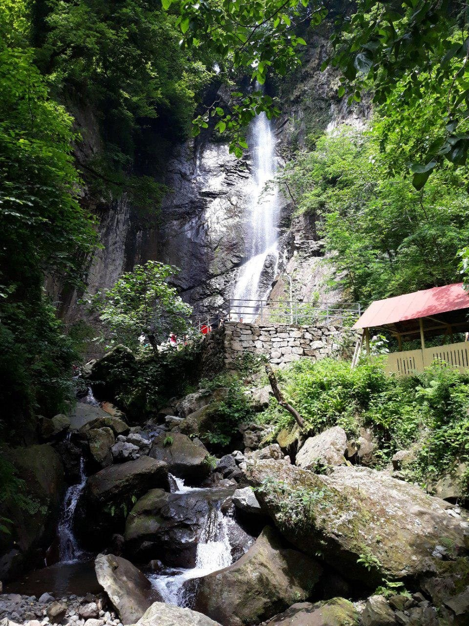 Tkhilnari Waterfall