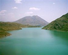 Lake of Latyan Dam