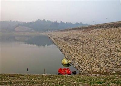 Lake of Shiyadeh Dam