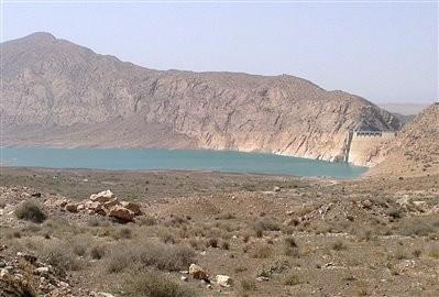 Lake of Al-Ghadir Dam (Lake of Saveh Dam)