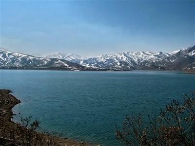 Mahabad Dam Lake
