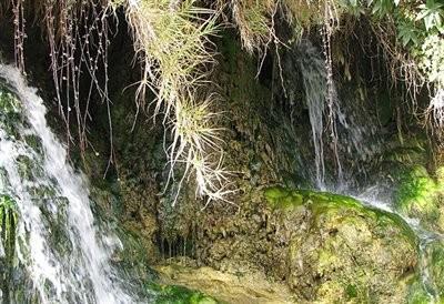 Morvarid Khafr Waterfall