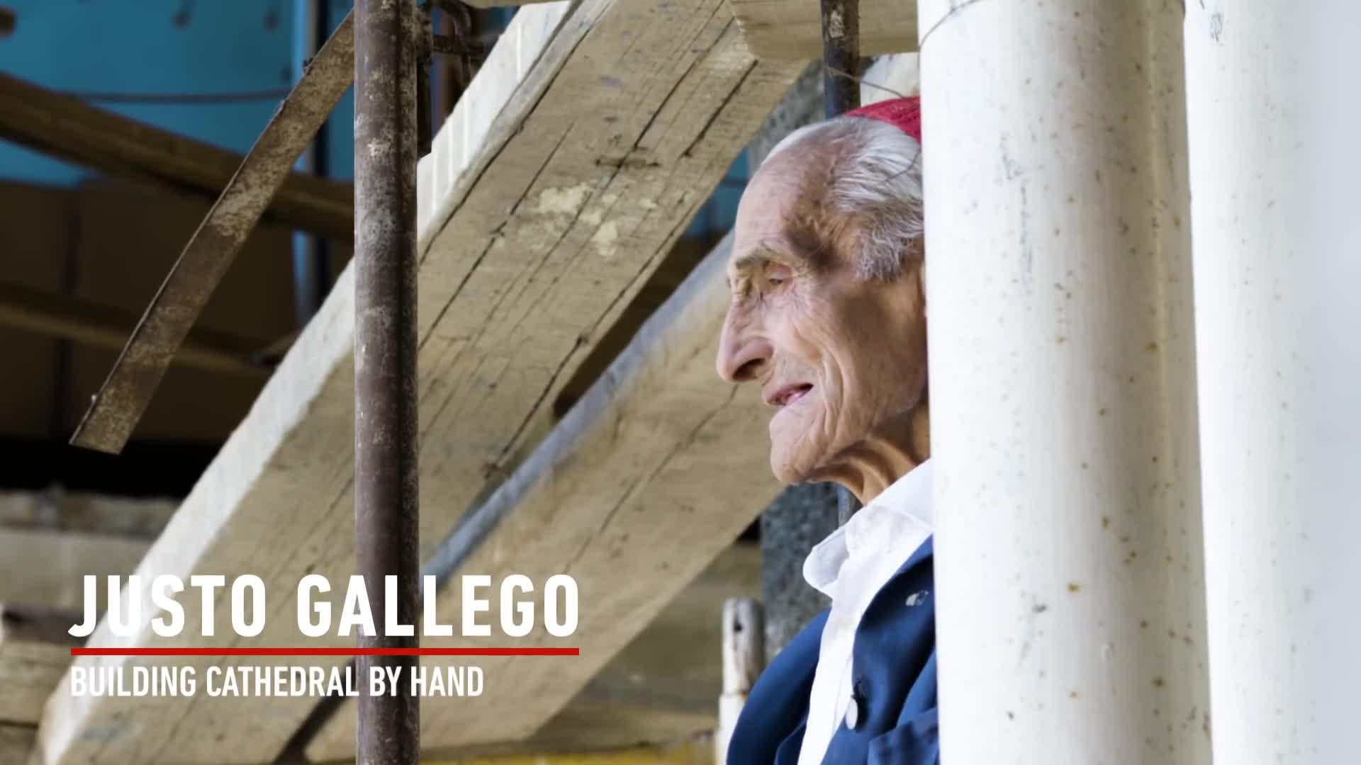 پیرمردی که به تنهایی یک کلیسای جامع ساخت