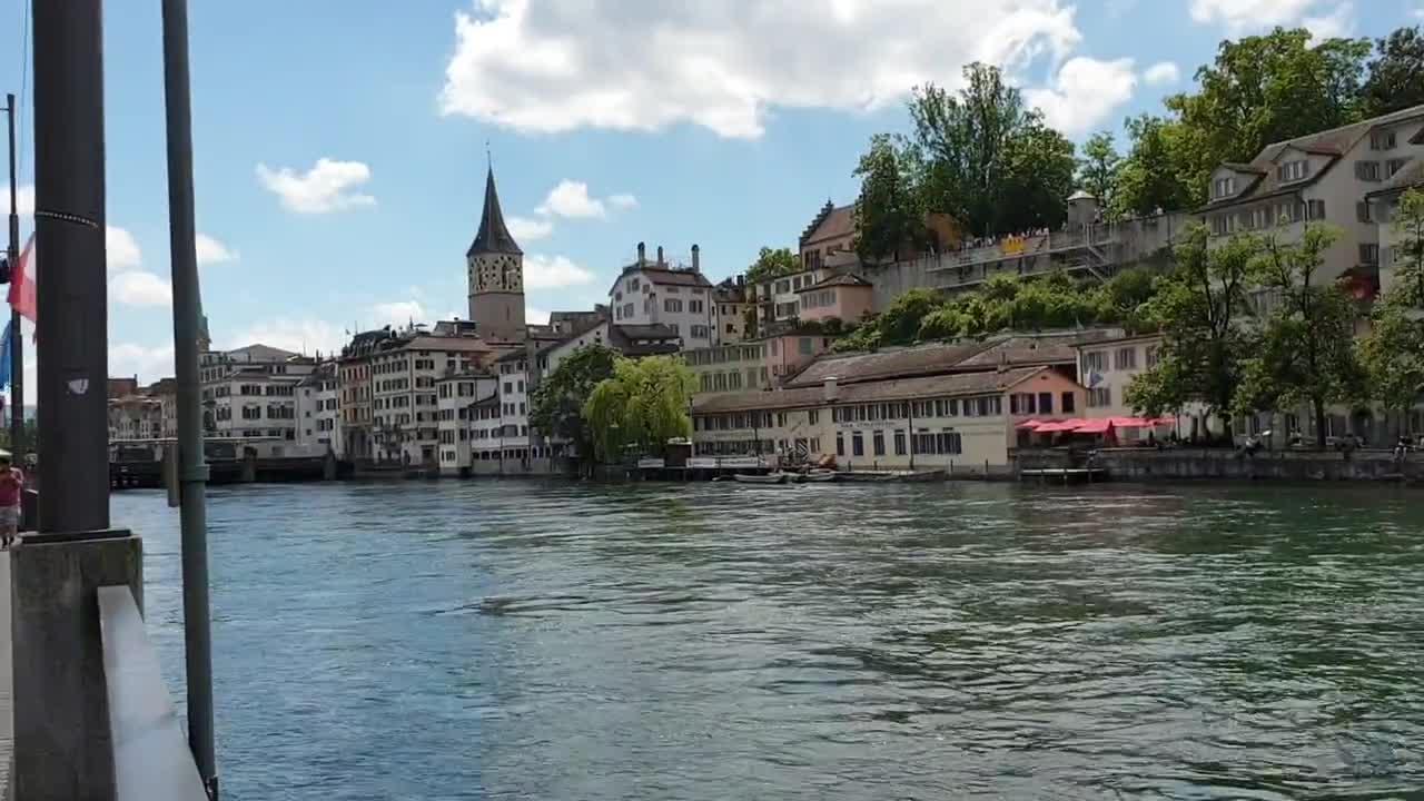 زوریخ قلب تپنده سوئیس