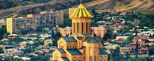 تور تفلیس آذر 98