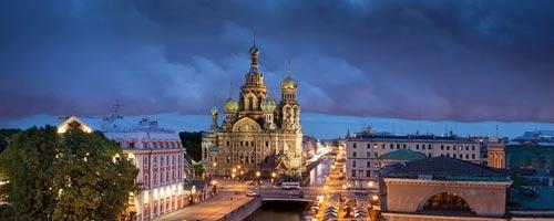 تور سن پترزبورگ + مسکو 15 تیر 96