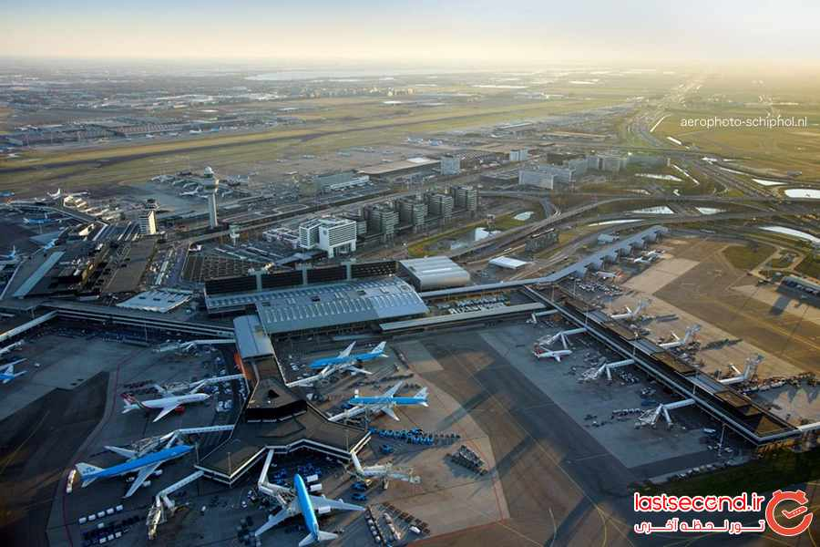 برترین فرودگاههای اروپا در سال 2017 + تصاویر