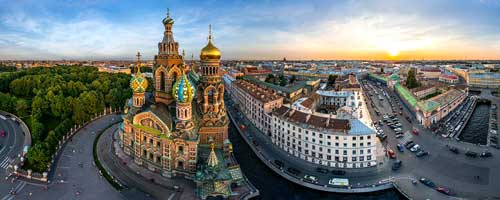 تور مسکو + سنت پترزبورگ 11 خرداد 97