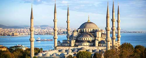 تور استانبول  3 و 4 آذر 96
