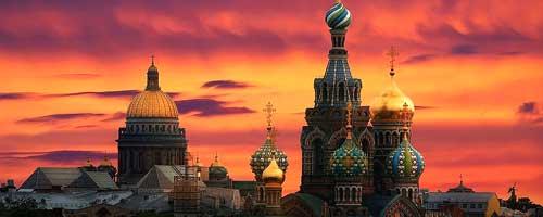 تور سن پترزبورگ + مسکو 7 تیر 96