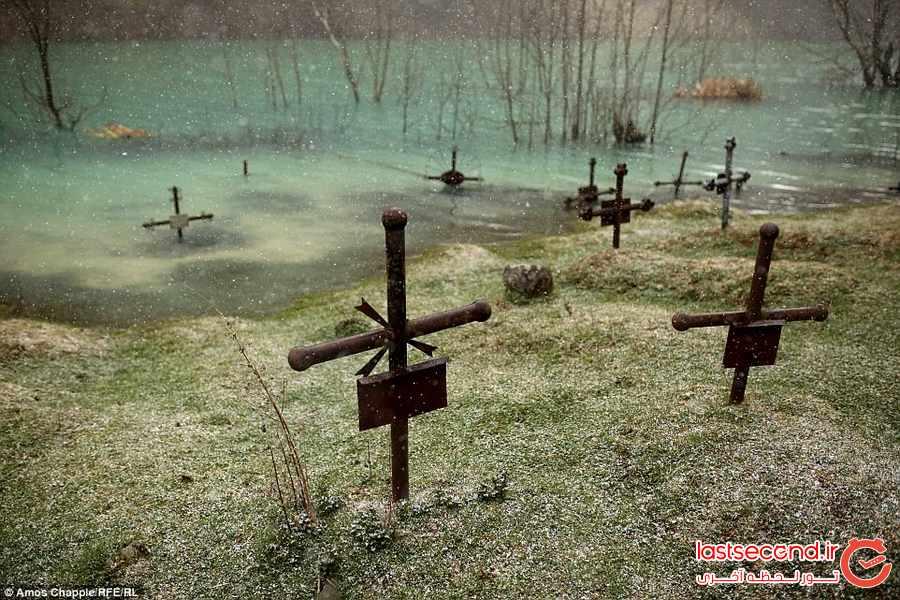 شهر ارواح در زیر آب 