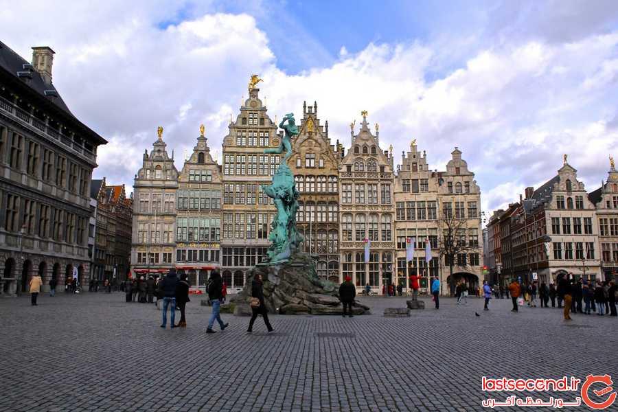 دلایلی که باید از بلژیک دیدن کنید!