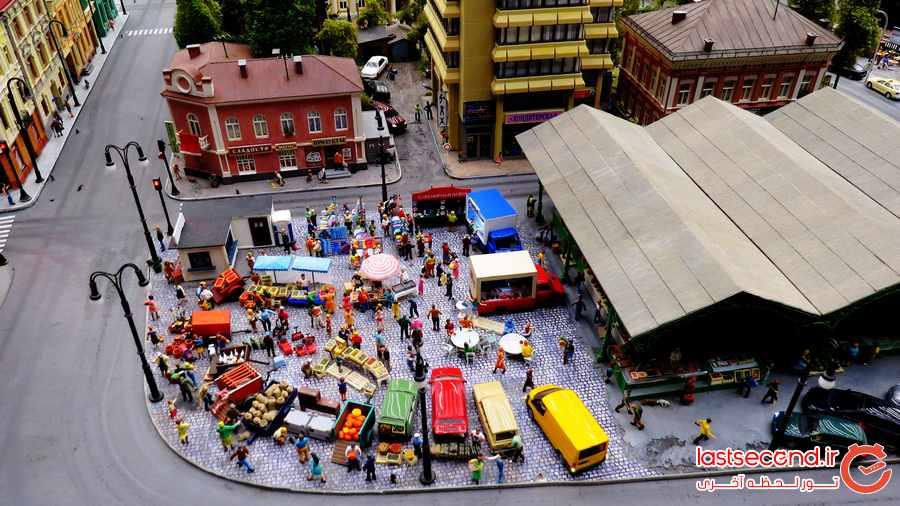 دومین شهر مینیاتوری جهان را بیشتر بشناسید + تصاویر