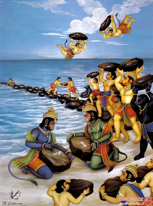راما، پلی که به دست میمون ها ساخته شده