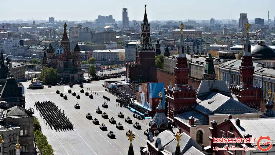: از میدان سرخ مسکو چه می دانید؟ + تصاویر