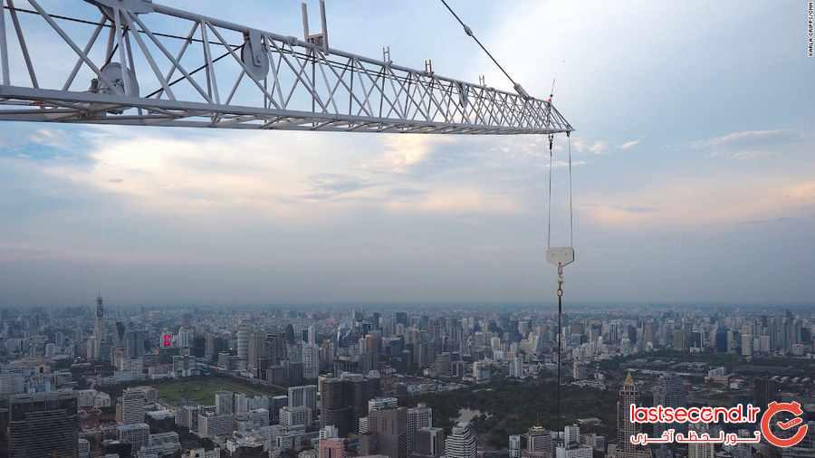 تصاویری از بلندترین آسمان خراش تایلند