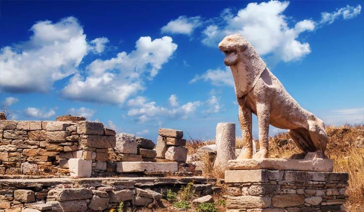 برترین جاذبه های گردشگری دلوس، یونان