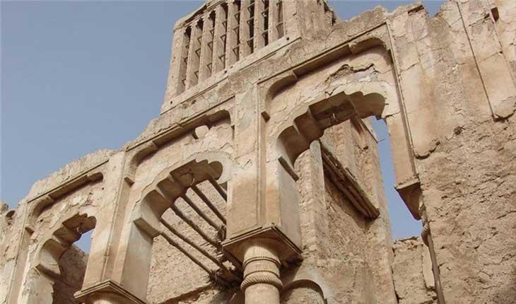 آغاز مرمت قلعه نصوری بندر سیراف بوشهر