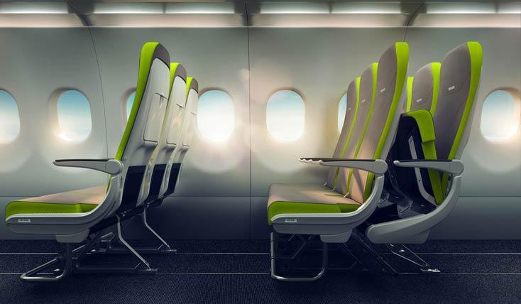 خارق العاده ترین کابین های هواپیمایی