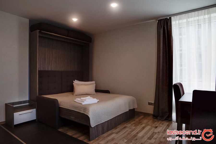 با هتل آپارتمان ورتیکال بیشتر آشنا شوید + تصاویر