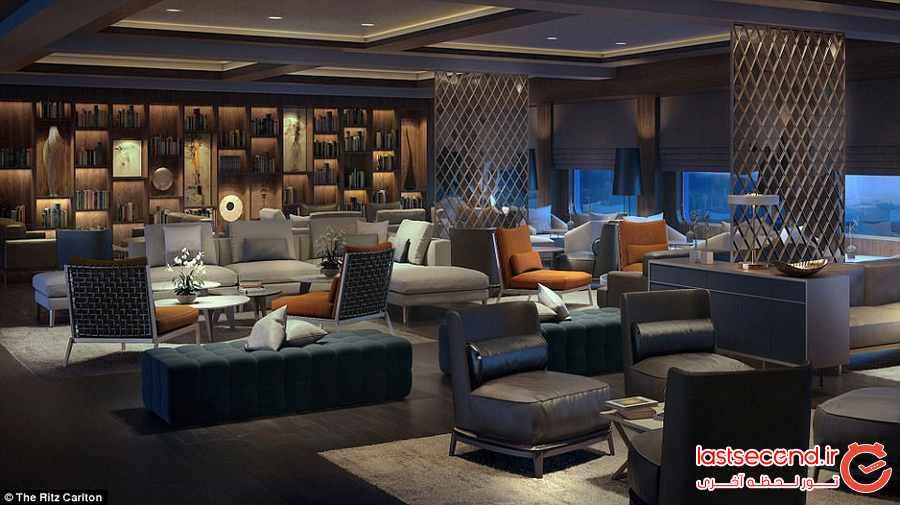 اولین هتل روی آب ریتز کارلتون معرفی می شود
