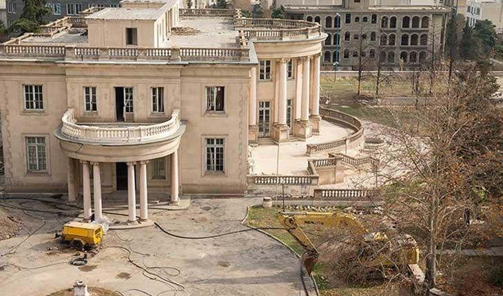 کاخ ورسای ایران ثبت ملی شد