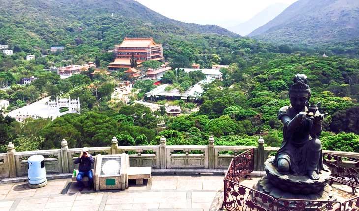 سبزترین جزیره هنگ  کنگ 
