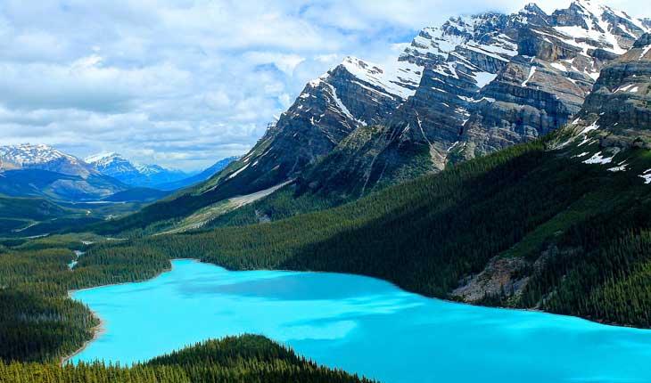 دریاچه های زیبا و دیدنی در کانادا 