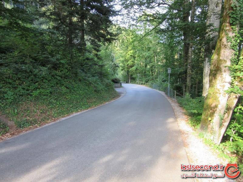 مسیر حرکت تا دریاچه کورتنسی
