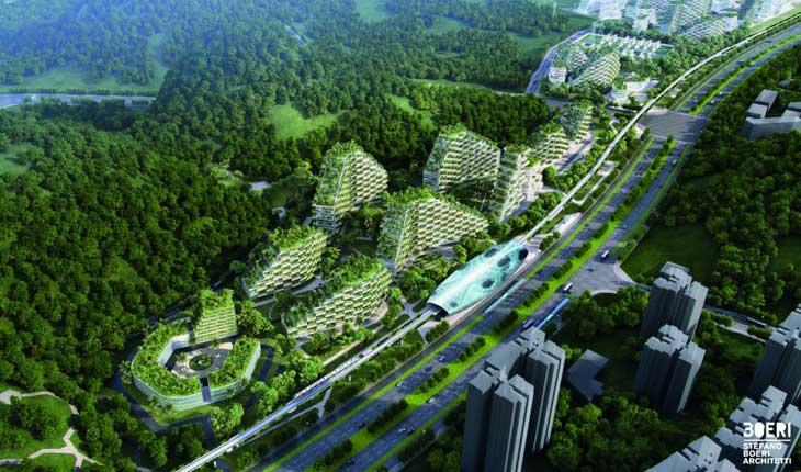 «شهر سبز» چین ، شهری برای مبارزه با آلودگی 