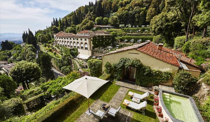 «بلموند ویلا سن میکله»، هتلی رویایی در فلورانس