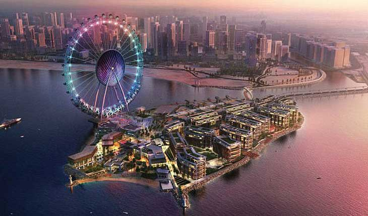 بزرگترین چرخ فلک دنیا را در دبی ببینید