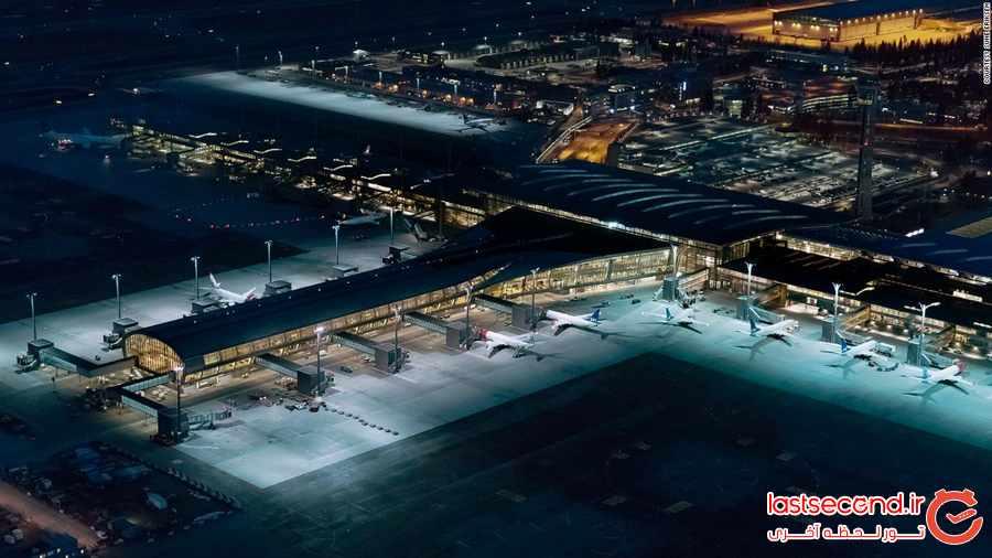 سبزترین فرودگاه جهان کجاست ؟
