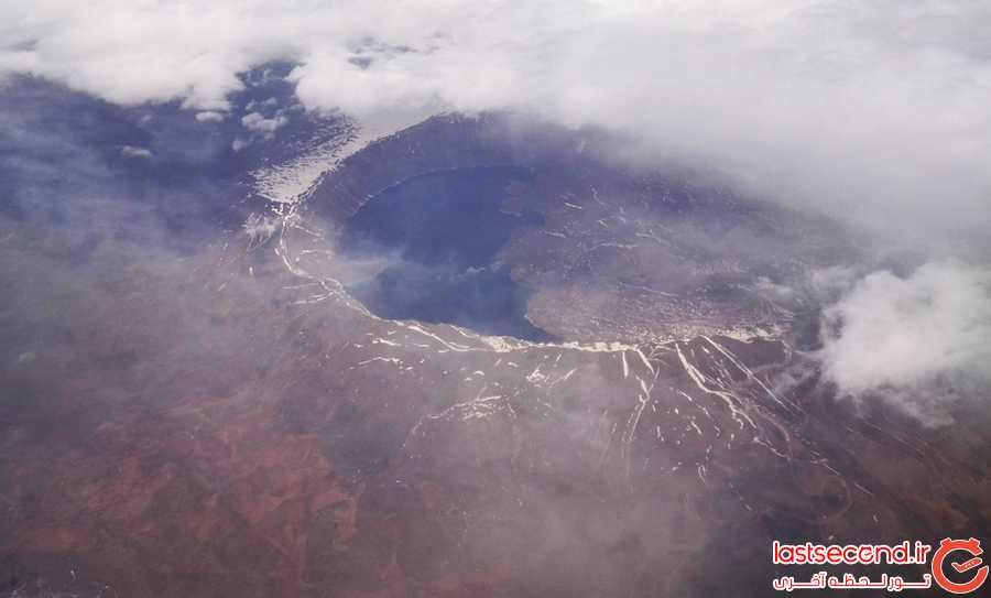 تصویر هوایی مسیر وان آنتالیا