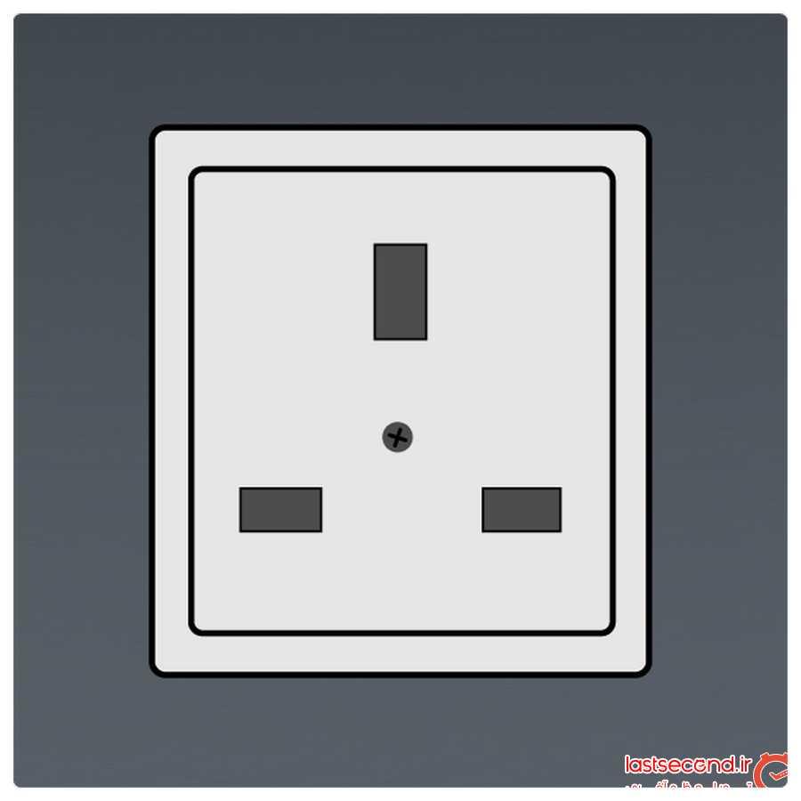 پریز برق در مالزی