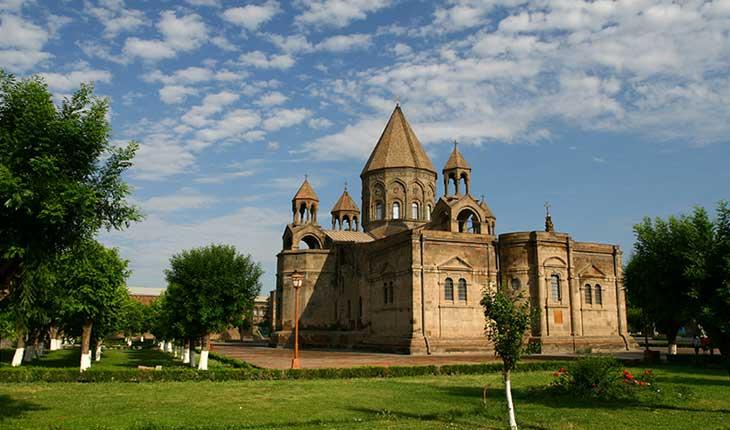 قدیمی ترین کلیسای جهان در ارمنستان