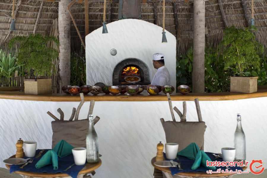 اقامتی لوکس در یکی از جزایر خصوصی مالدیو 