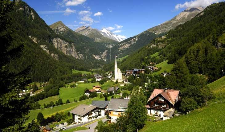 ده شهر کوچک  و دیدنی در اتریش 
